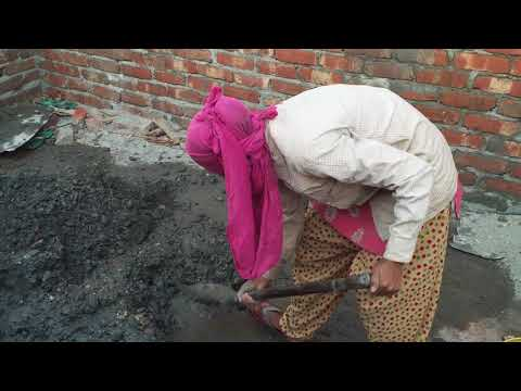 Woman Construction Worker and confined Masonry Methods in Nepal