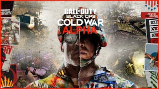 🔴 CALL OF DUTY COLD WAR ALPHA - COD COLD WAR FREE TO PLAY ON PS4 #RazerStreamer