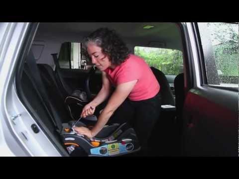 How to Install a Car Seat Using LATCH (Chicco KeyFit Base)