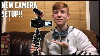 My New Vlog Camera Setup! Canon Powershot SX60, Rode Mic Go, and Joby Gorillapod