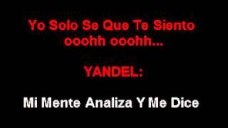 Karaoke Wisin y Yandel   te siento