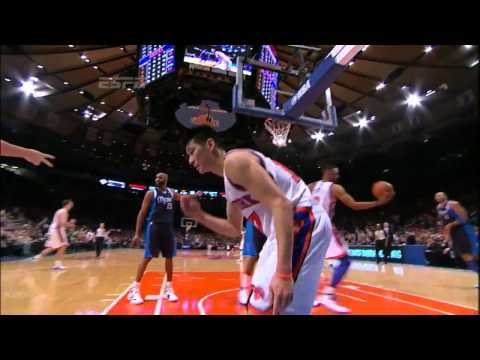 [HD]林書豪打爆小牛8分鐘紀錄 Jeremy Lin Knicks VS Mavericks 2.19.2012