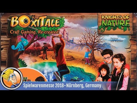 BoxiTale: Knights of Nature — game overview at Spielwarenmesse 2018