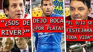 La CONMEBOL ¿Es de RIVER?+ TEVEZ confiesa PORQUE se FUÉ a CHINA+ GALLARDO recuerda la FINAL a BOCA