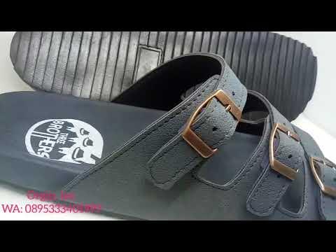 sandal sendal pria wanita ukuran besar big size bisa custom model exclusive 45 46 47 48 49 50 51