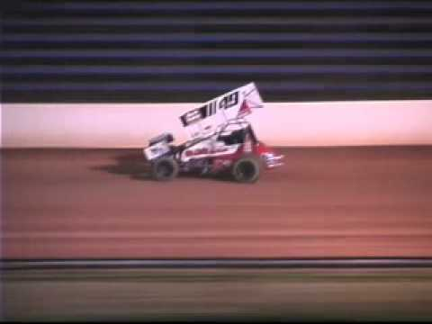 West Virginia Motor Speedway Sprint Car Dash 7-10-10
