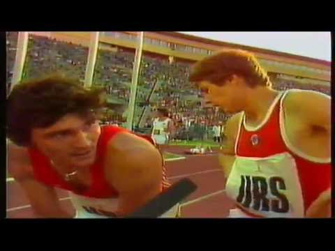 4x400m Relay - 1980 Moscow Olympics