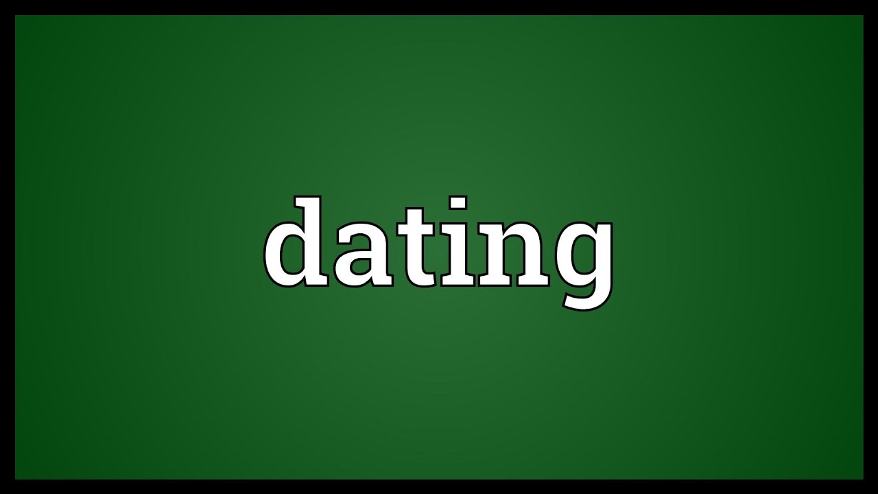 Dating definition relationship marriage