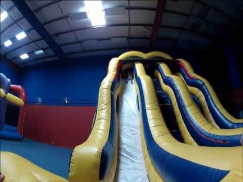 Double Bump Slide - Giant Inflatable Rental Dallas, Texas