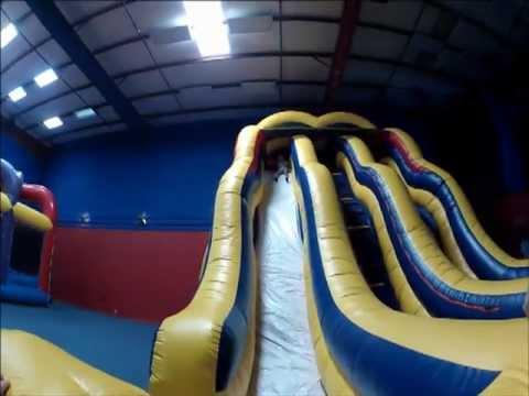 Double Bump Slide - Giant Inflatable Rental Dallas, Texas
