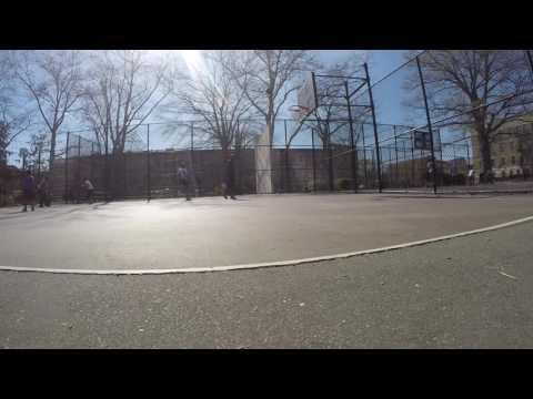 Martin Luther King Jr park in ENY with the GoPro