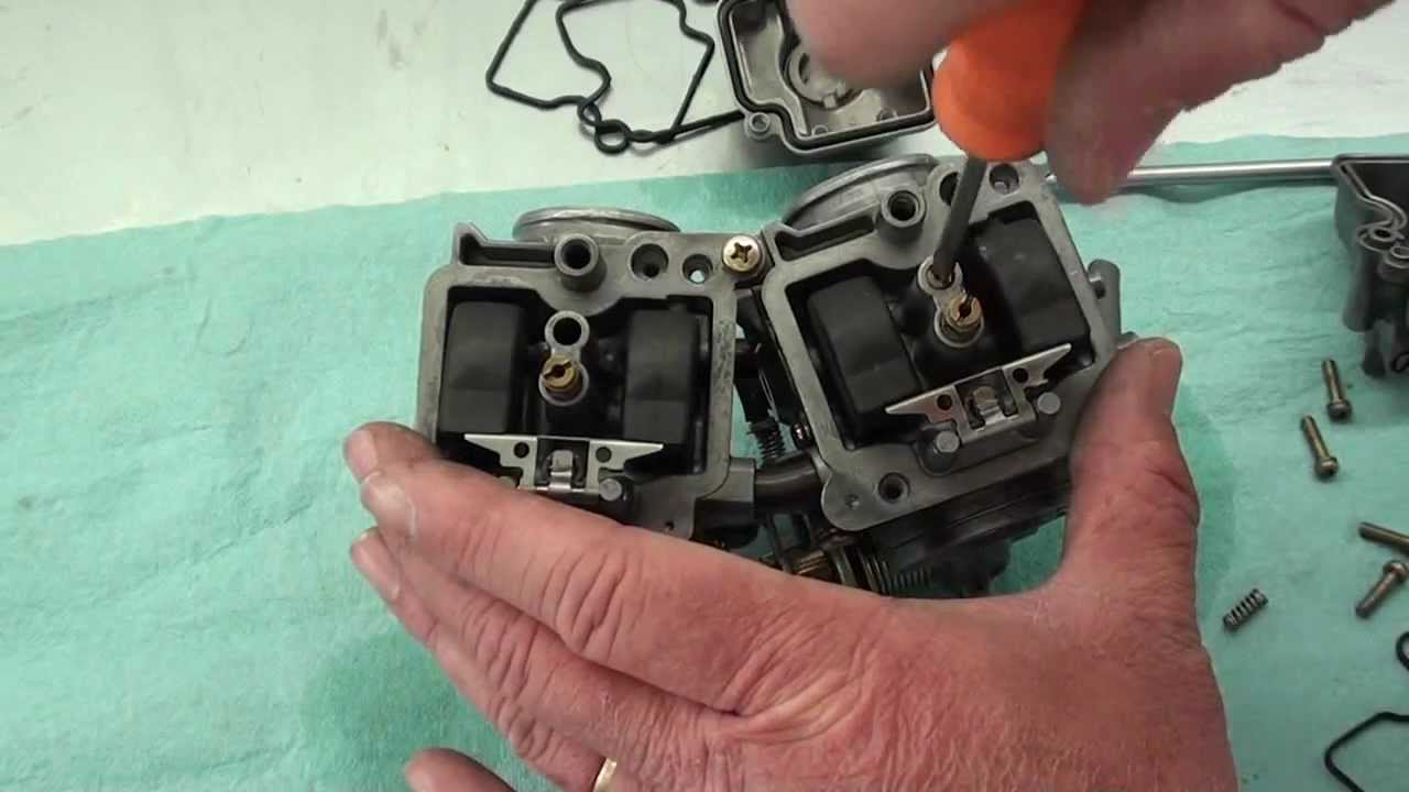 1986 Honda Xl600r Carb Service Youtube