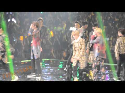 [140830]EXO GuangZhou - Music Battle+XOXO (Tao Focus)