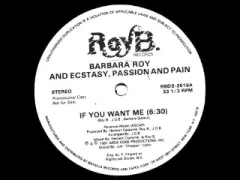 Barbara Roy - If you want me