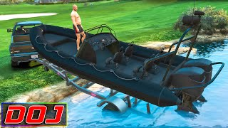 Golf Course Fishing | GTA 5 Roleplay | DOJ #155