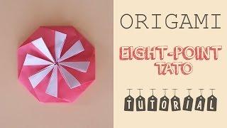 Origami Eight Point Tato (Envelope) Tutorial