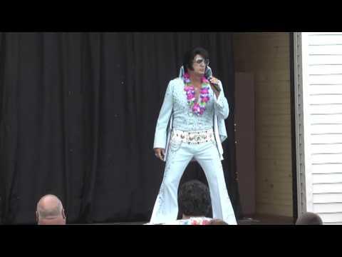 John Monforto -Elvis- 1st Show  7-28-16