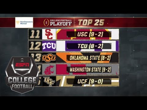 USC keeps its spot at No. 11 in College Football Playoff rankings | ESPN