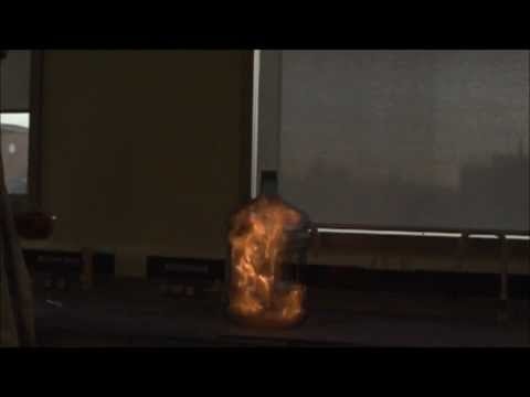 Slow Motion Combustion of Ethanol