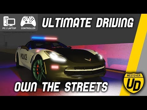 Roblox|Ultimate Driving: Westover Islands|Becoming The Cop|#3