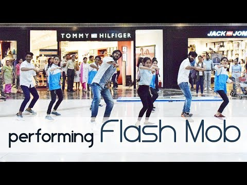 Flash Mob | Pacific Mall, Delhi | Acrobat The Dance Academy..!!