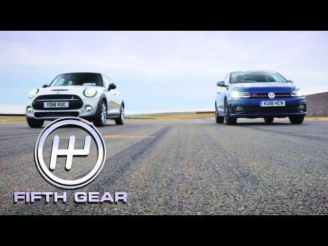 Volkswagen Polo GTI VS Mini Cooper S Shootout | Fifth Gear