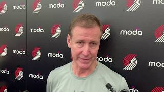 Rodney Hood will play 'right away' for Portland Trail Blazers says coach Terry Stotts