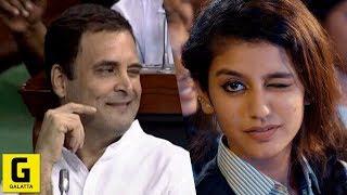 Priya Prakash Varrier's Response To Rahul Gandhi's Wink | Narendra Modi