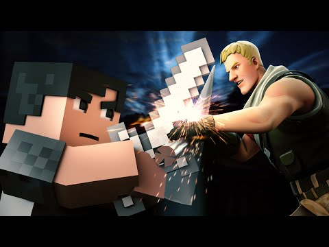 ♪Bad Fighter - A Minecraft Original Music Video Vs Fortnite ♪ - Imagine Dragons Parody Bad Liar
