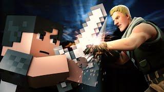 "Download ♪""Bad Fighter"" - A Minecraft Original Music Video vs Fortnite ♪ - Imagine Dragons Parody ""Bad Liar"""