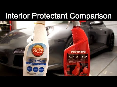 Best Car Interior Protectant Mothers Vlr Vs Aerospace 303 Youtube