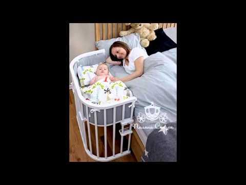 Кроватки для кукол кукольные качалки, колыбельки с балдахином