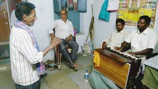 G J Raju's Playing Style Of Harmonium And Extraordinary Singing By An Ordinary Person
