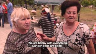 BBC HARDtalk on the Road in Moldova