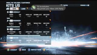 Battlefield 3 Premium New tags Weapons and Camo (ACB-90)