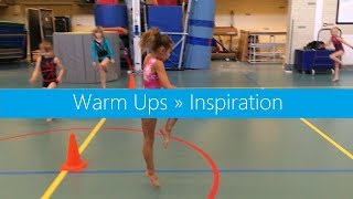 Warm Ups Inspiration | Variate with arms, legs & directions | Motor Development