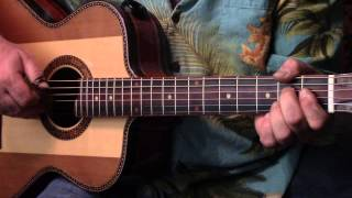 """Early This Morning"" Bromberg Version Fingerpicking Guitar Blues Lesson"