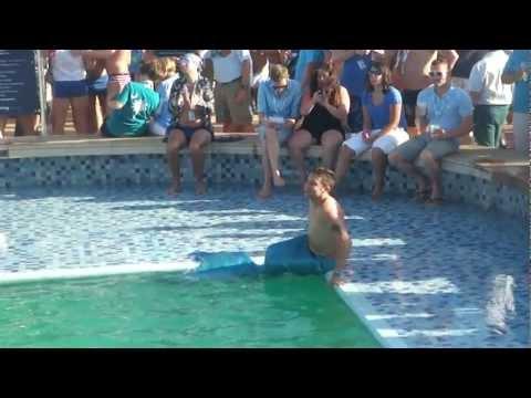 RSVP: Blue T-Dance Mermaid Boy