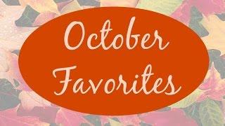 October Favorites Thumbnail
