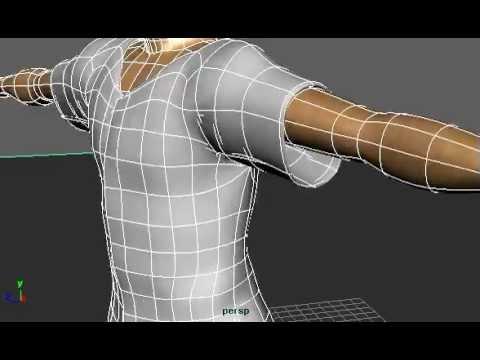 Full body wireframe #2