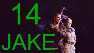 Resident Evil 6 walkthrough - part 14 HD Jake walkthrough gameplay full game J + Sherry Walkthrough