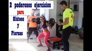 2 poderosos ejercicios para aumentar glúteos |Aumentar Y Tonificar Piernas Y Glúteos | Dey Palencia