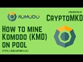 How to mine Komodo KMD on pool