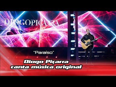 Diogo Piçarra canta 'Paraíso' no The Voice Portugal