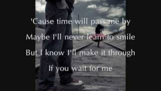Will You Wait For Me by Gareth Gates (w/ lyrics)