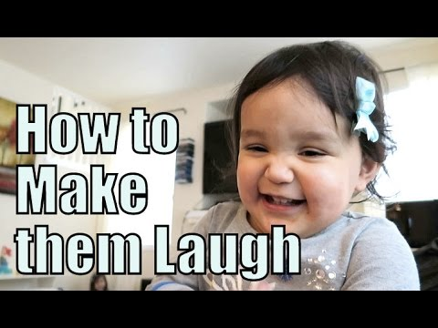 How To Make Toddlers Laugh! - February 14, 2016 -  ItsJudysLife Vlogs