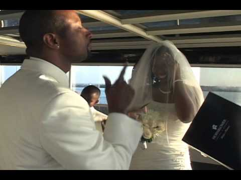 """Wedding Sample From: Aboard the Yacht, """"Dream On"""" in Marina Del Rey, California"""
