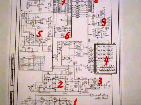 домофон Цифрал схема блока