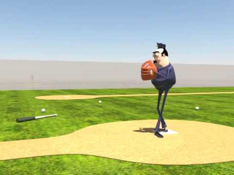 Baseball Pitch Animation