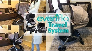 Evenflo lightweight Travel Modular System Review | Daisy Hearts